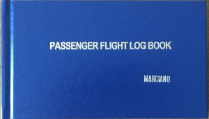 Passenger Logbook Stamped Marciano